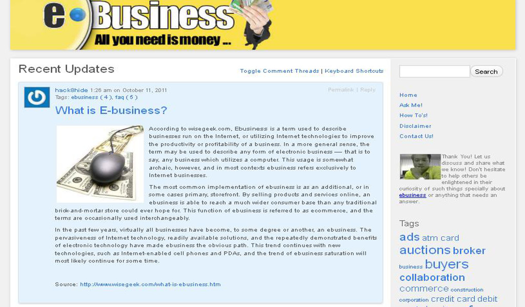 Learn E-Business