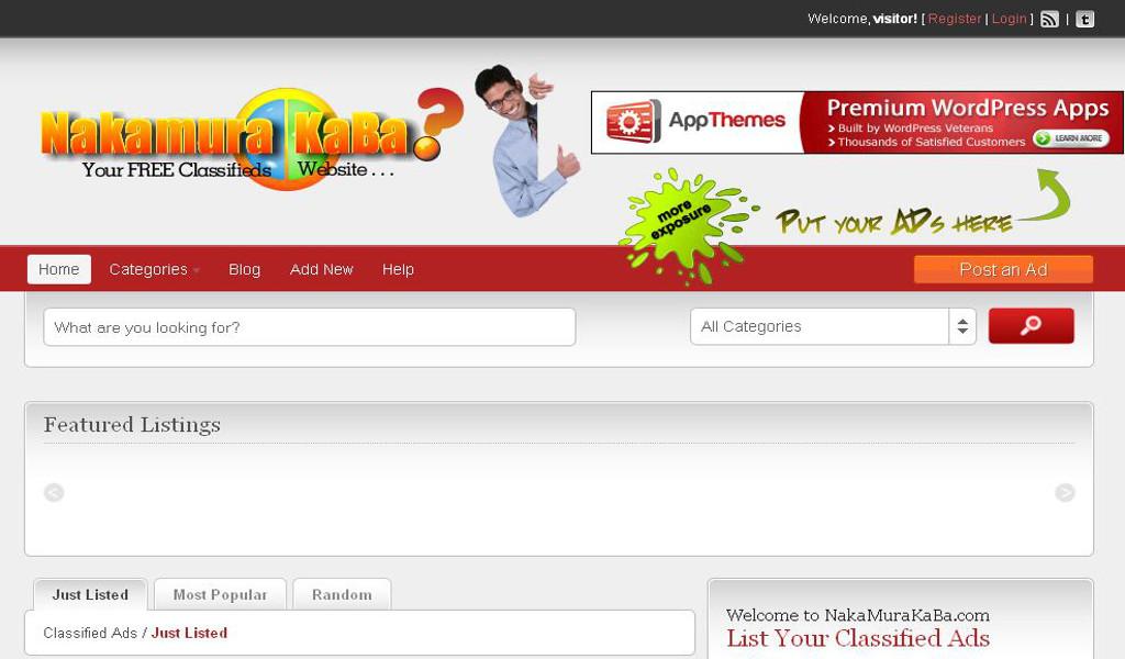 NakaMuraKaBa Online Store
