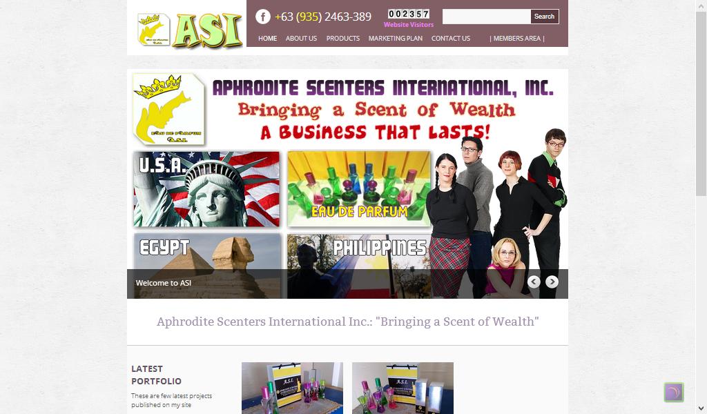 Aphrodite's Scenters Website