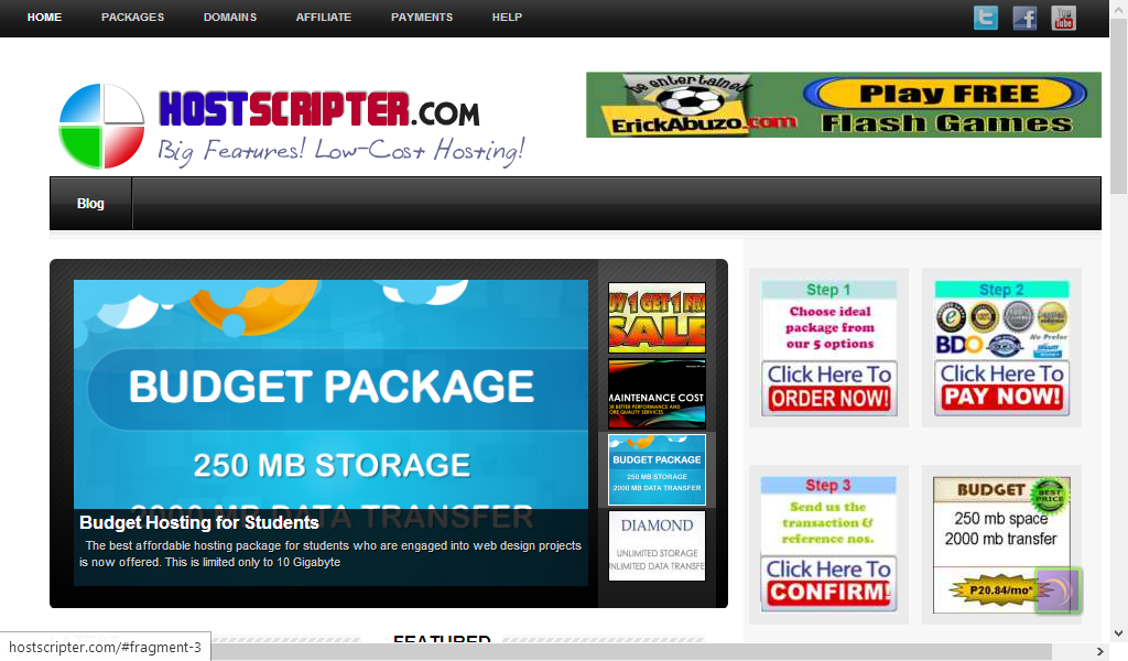 HostScripter Web Services