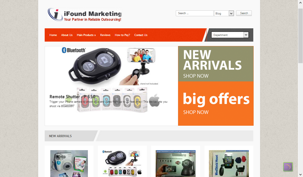 iFound Marketing Store