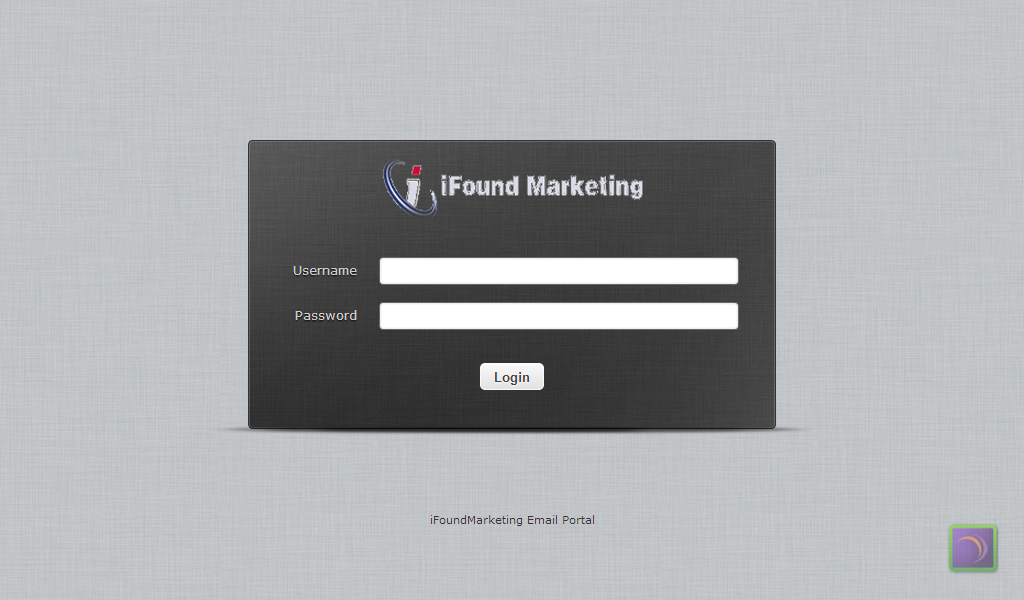 iFound Marketing Mail Portal