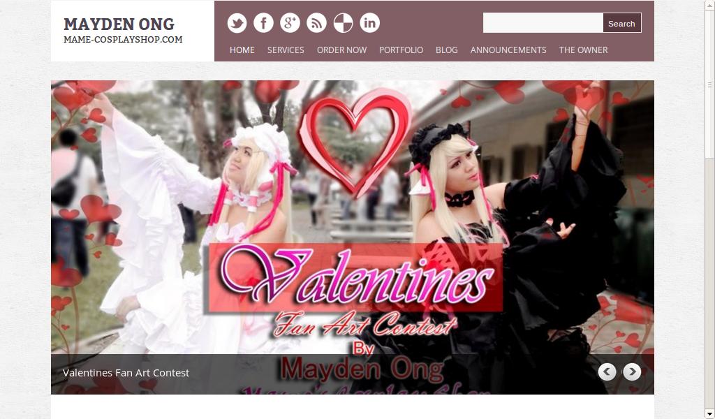 Mayden Ong Website