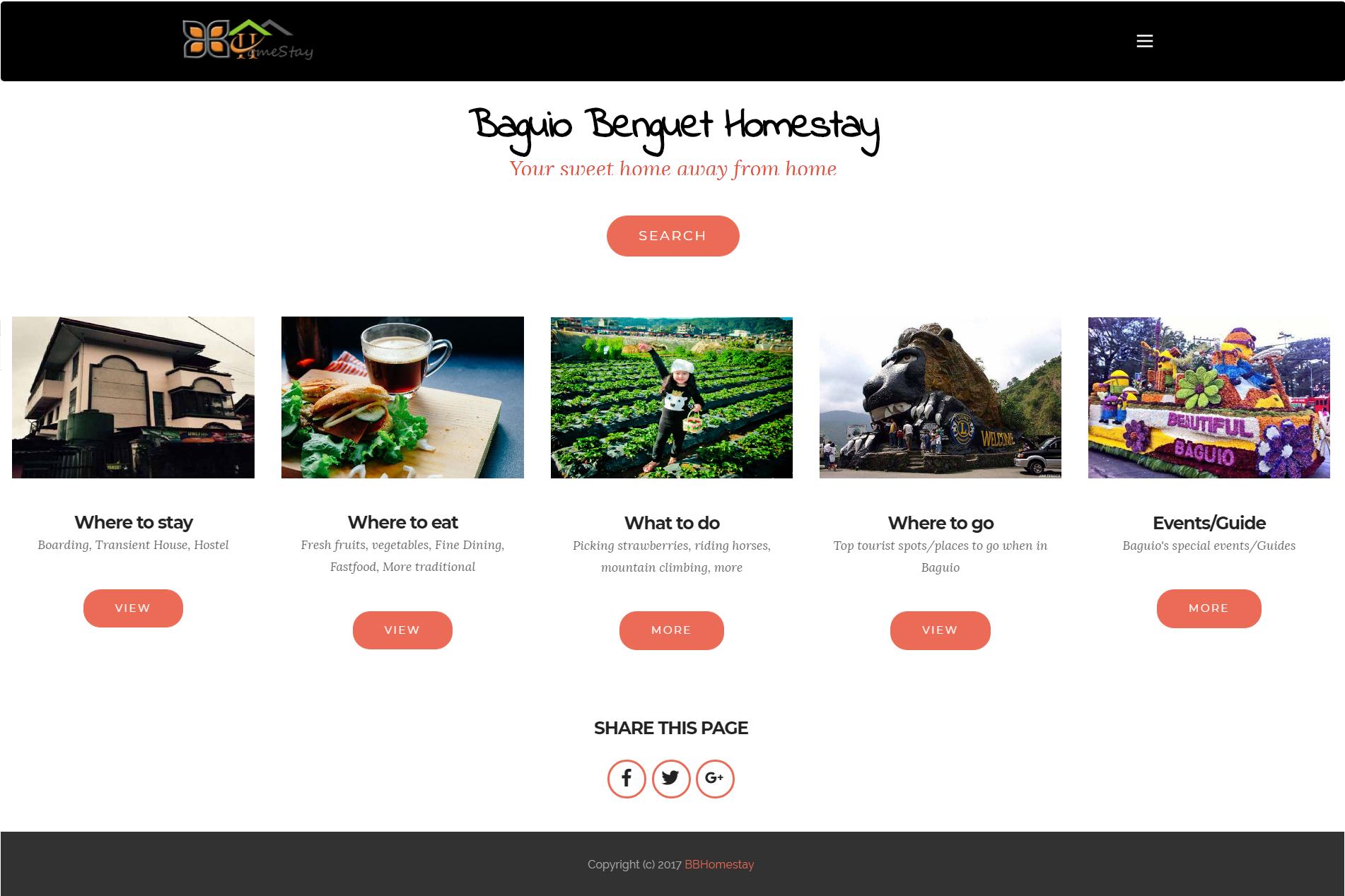Baguio Benguet Homestay