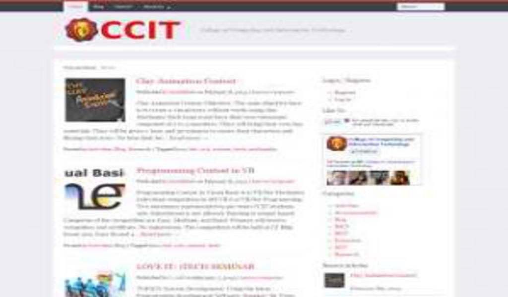 ISU – CCIT Website