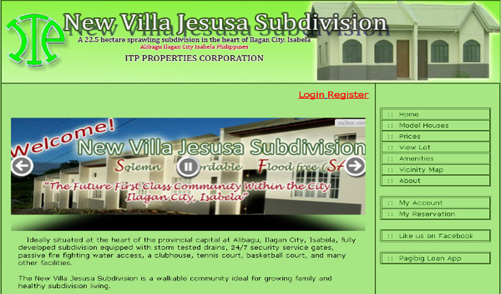 Villa Jesusa Subdivision