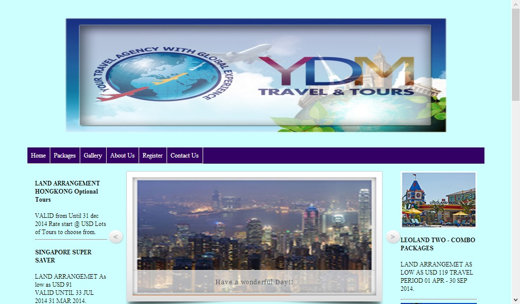 YDM Travel and Tours