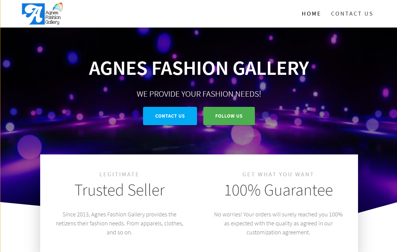 Agnes Fashion Gallery